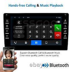 Single DIN 8 Inch Android 10.1 Car Stereo Bluetooth GPS Navigation 2+16GB Radio