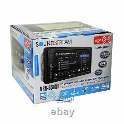 Soundstream DVD BT GPS SiriusXm Stereo Dash Kit Harness for 07-12 Nissan Altima