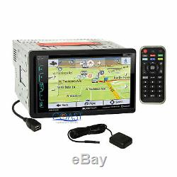 Soundstream DVD GPS Sirius Stereo Dash Kit SWC Amp Harness for 2009+ Ford F-150