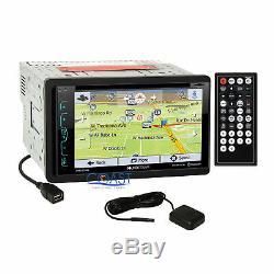 Soundstream GPS Bluetooth Radio Dash Kit Harness for GM Buick Chevrolet Pontiac