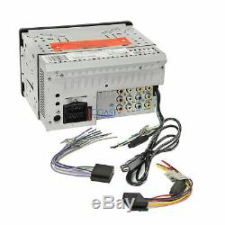 Soundstream GPS Bluetooth Stereo Dash Kit Amp Harness for GM Chevrolet Pontiac