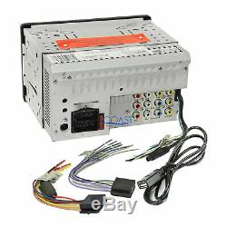 Soundstream GPS SiriusXm Bluetooth Stereo Dash Kit Harness for 88-94 Chevy GMC