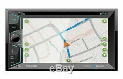 Soundstream VRN-624B 6.2 TV CD DVD GPS USB Navigation Bluetooth Car Strereo