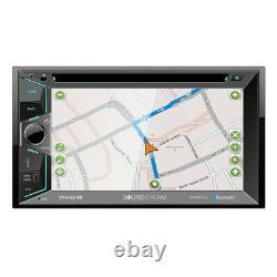 Soundstream VRN-624B DVD/CD/MP3 Player 6.2 Touchscreen Navigation GPS Bluetooth