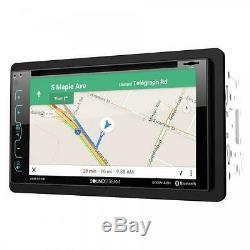 Soundstream VRN-65HB DVD/CD/MP3 Player 6.2 Touchscreen GPS Navigation Bluetooth