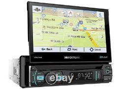 Soundstream Vrn-75hb DVD Mp3 CD Player 7 Touchscreen Gps Navigation Bluetooth