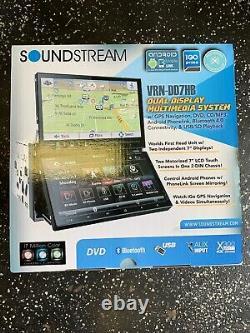 Soundstream Vrn-dd7hb 7 CD DVD Gps Bluetooth Navigation 300w Stereo + Camera