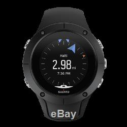 Suunto Spartan Men's Quartz GPS Heart Rate Digital 46mm Watch SS022668000