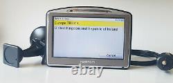 TomTom GO7000 Truck Navigation GPS Sat Nav Europe Truck Bus Van Taxi Maps 4.3