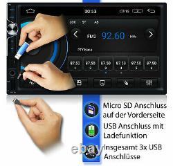Tristan Auron AUTORADIO mit Navigation Bildschirm Bluetooth GPS Doppel 2 DIN DAB