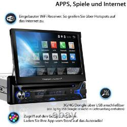 Tristan Auron Android Autoradio mit Navi Bluetooth Navigation 1 DIN cd dvd gps