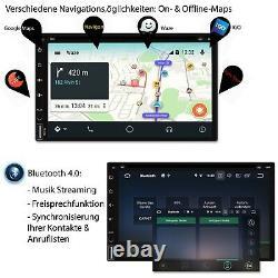 Tristan Auron Android Autoradio mit Navi Bluetooth Navigation 2 DIN cd dvd gps