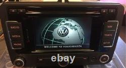 VW Golf VI Golf Plus Passat Polo Navigation Radio RNS 310 Touchscreen mit Code