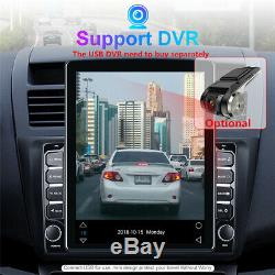 Vertical Screen 9.7In Car Bluetooth Stereo FM Player Android 9.1 GPS Navigation