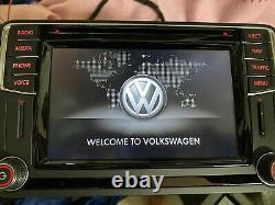 Vw Discover Pq Media Sat Nav Navigation Bluetooth Gps Wifi Aux Sd Maps