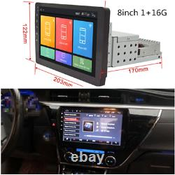 WIFI Bluetooth Car Radio 1 Din Android 8.1 Player Stereo Central Navigation GPS